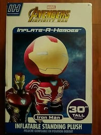 Giant inflatable ironman