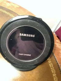 black Samsung wireless charging pad Alexandria, 22306