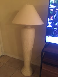 Very Heavy. You Can Have It With Or Without The Lamp Shade. (Your Choice)