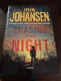 Book: Chasing the Night by Iris Johansen Bolton, L7E 5Y5