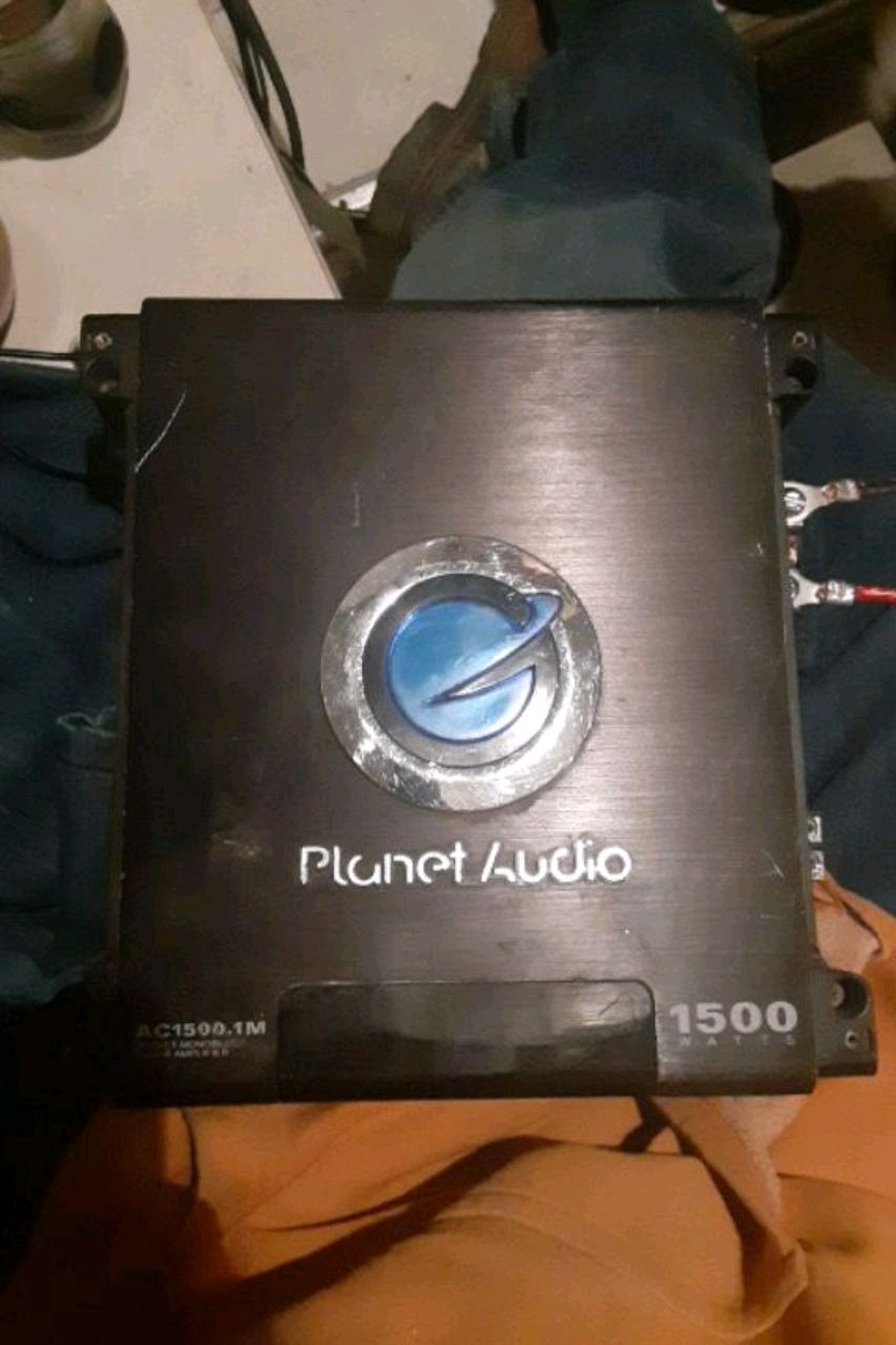 Photo Planet audio car amp