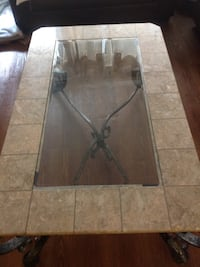 rectangular brown wooden coffee table Laval, H7V 1B1