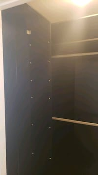 Updated: IKEA PAX closet system. 3 large closets and a ton of shelves