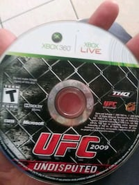Xbox 360 ufc game disc Bakersfield, 93307