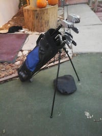 black and blue golf bag Hesperia, 92345