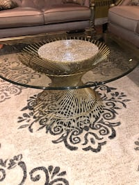 Glass table an one end table from pier one very beautiful  Toronto