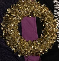 sequins wreath decor Barrie, L4N 5G8