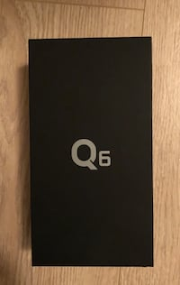 Brand new LG Q6. Still sealed in box best offer will take it home  Burnaby, V5H