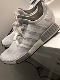 Grey and White NMD Adidas Ultra Boost like new excellent condition very light also comes with og box  Kingsport, 37660