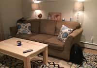 Admirable Used Fabulous Futon For Sale In New York Letgo Theyellowbook Wood Chair Design Ideas Theyellowbookinfo