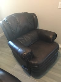Oversized Leather recliner