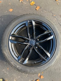 Blizzak winter tires w replica rims for bmw x4 great shape used 1 szn