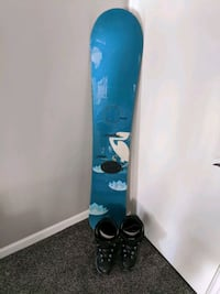 Ride Snowboard & Northwave boots