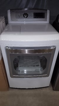 FIRM BRAND NEW LG EasyLoad 7.3-cu ft Electric Dryer (White) ENERGY STAR