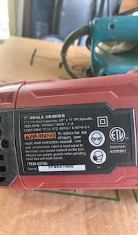 """Chicago Electric.  7"""" angle grinder Delray Beach, 33483"""