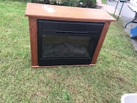 Amish fireplace, 3 years old, works great, remote control shown in photo  East Rockaway, 11518