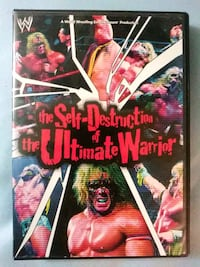 The Self destruction of the Ultimate Warrior dvd