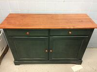 Two Drawer, Two Door Cabinet/Buffet/Credenza! TORONTO