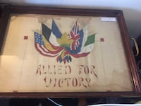 World War Serving Tray Art  Toronto, M4V 2C1