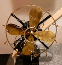 Antique Westinghouse 12 in brass blades fan Mississauga, L5N 8C8