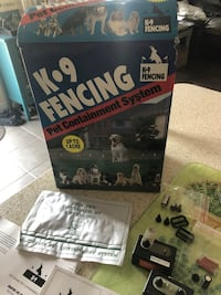 k9 fencing pet containment system. New never used missing wire. Can be bought online separately. Courtice, L1E 0H5