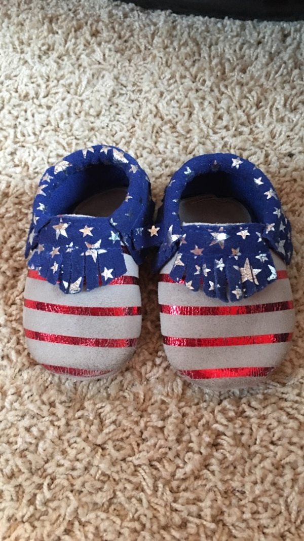 71e1f90b149 Used Stars and Stripes Baby Mocs for sale in Columbia - letgo