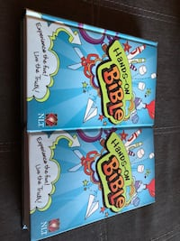 2 kids bibles $30 for 2