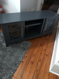 black wooden TV stand with cabinet Lexington, 40508