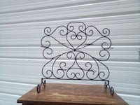 Scroll work multiple candle holder/ footed Springfield, 65804