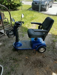 blue and black mobility scooter Orlando, 32805