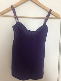 Aritzia purple push up tank top  Toronto, M4J 3N5