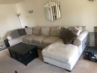 Ashley Sectional couch with lounge and cuddler San Diego, 92107
