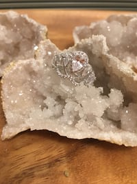 Size 6 sterling silver 925 Charlotte, 28269