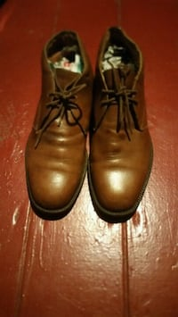 pair of brown leather chukka boots Newport News, 23607
