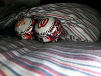 Orioles and nationals ball