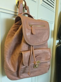 Backpack style fashion bag with decorative gold beads / new accessory very nice Alexandria, 22311