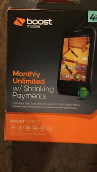 """Boost Mobile 4g LTE """"FORCE"""""""