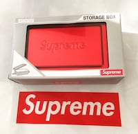 Supreme small sigg metal box new in box Chalmette, 70043