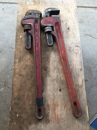 24 metal pipe wrenches  Red Deer, T4P 1N6