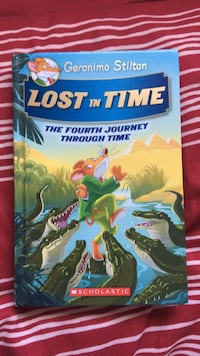 Lost in Time The Fourth Journey Through Time by Geronimo Stilton book Winnipeg, R3W 0G8