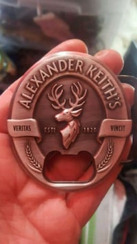 Alexander Keith's Belt Buckle/Beer Opener