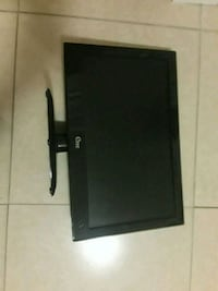 black flat screen TV with remote Naples, 34120