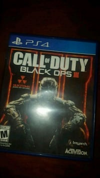 Call of Duty Black Ops 3 PS4 game case Toronto, M9N 1H3