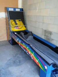 Berners skeet ball machine.  8.5 long.  Orange City