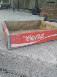 Old wooden Coca-Cola crate Westminster, 21157