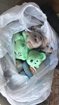 Ty beanie baby plush toy lot