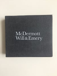 Vintage Charger Set designed for the famous McDermott Will & Emery law