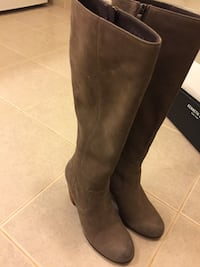Gray Suede Boots sz 7 South San Francisco, 94080