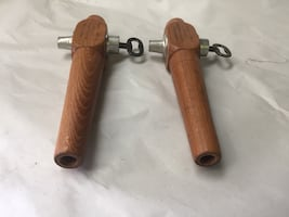 Antique wooden wine barrel tap(vslve) with key MADE IN GERMANY