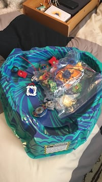 Beyblades and  arena Burnaby, V5C 2W5